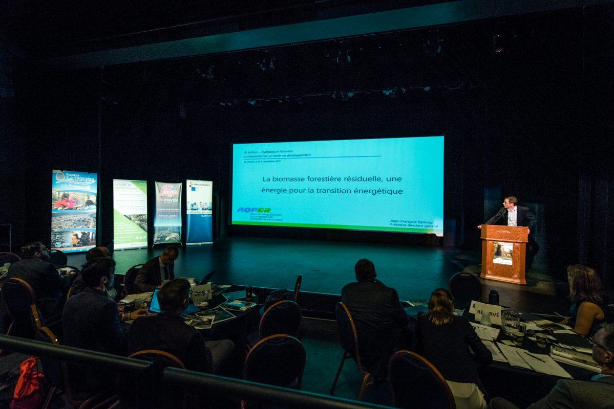 Symposium forestier - Novembre 2017