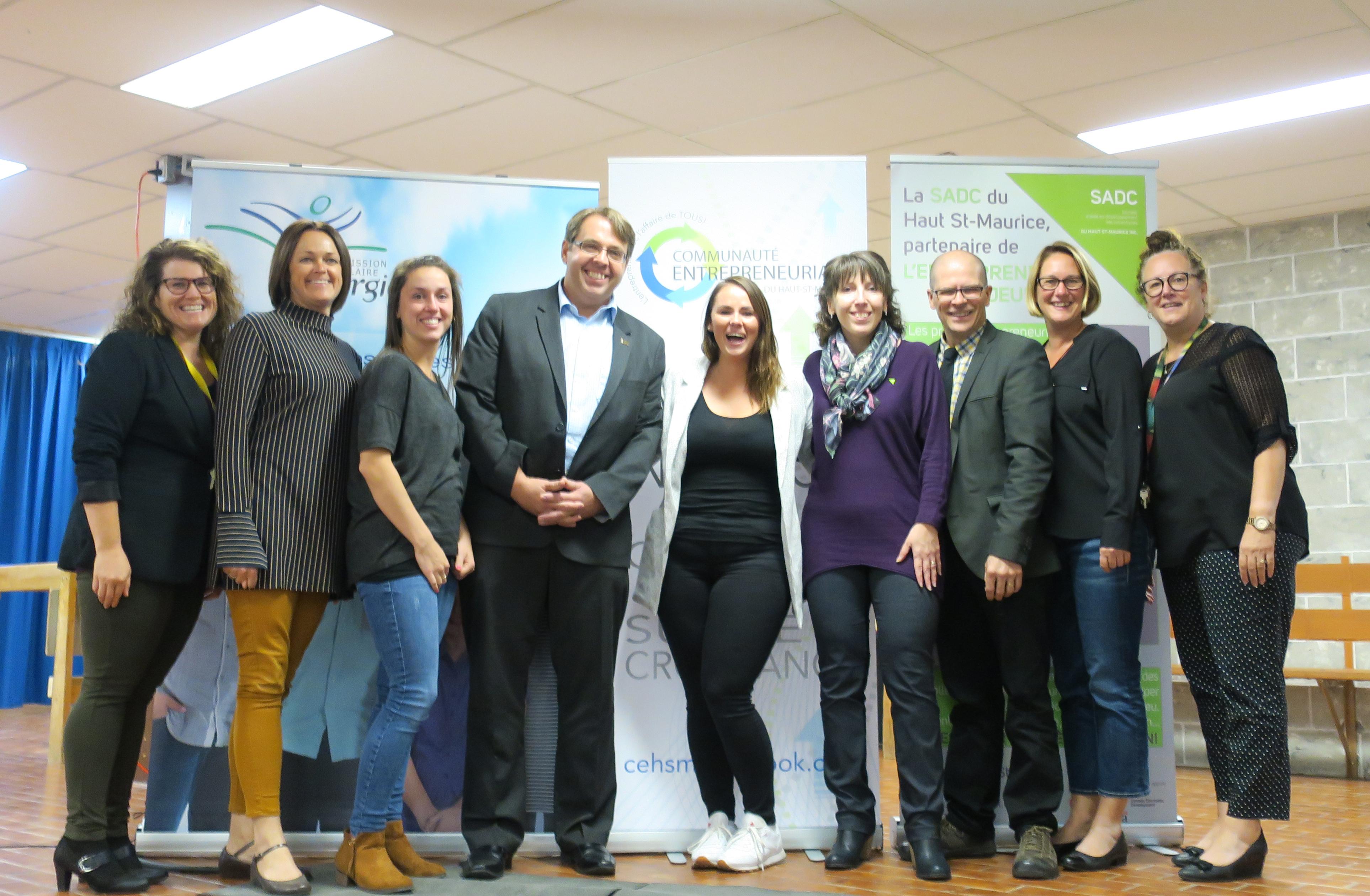 Colloque sur l'entrepreneuriat éducatif dans le Haut-Saint-Maurice - Octobre 2017