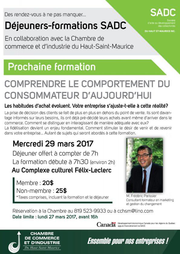 Déjeuner-formation SADC avec M. Frédéric Parissier