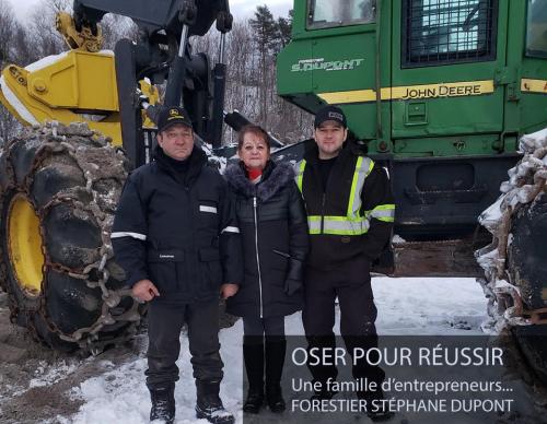 Oser pour réussir : Forestier Stéphane Dupont
